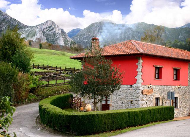 Casa rural en ribadesella para 4 8 personas el rinc n del sella - Casas con encanto asturias ...