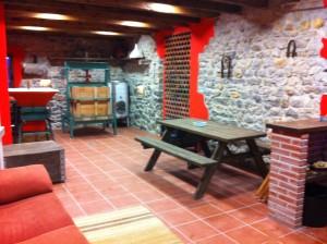 Salon lagar de sidra, casa rural el Rincón del Sella,https://www.elrincondelsella.com