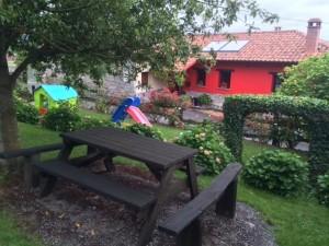 Área recreativa casa rural