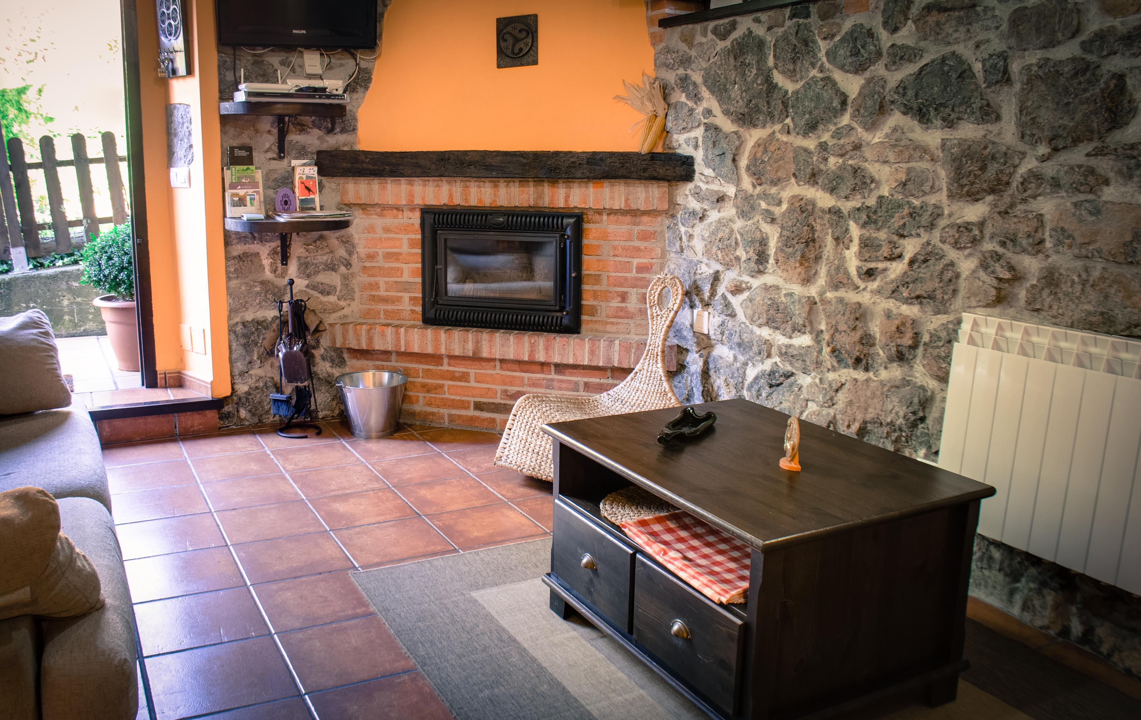 Navidades calentitas en el rinc n del sella casa rural - Chimeneas para salon de lena ...