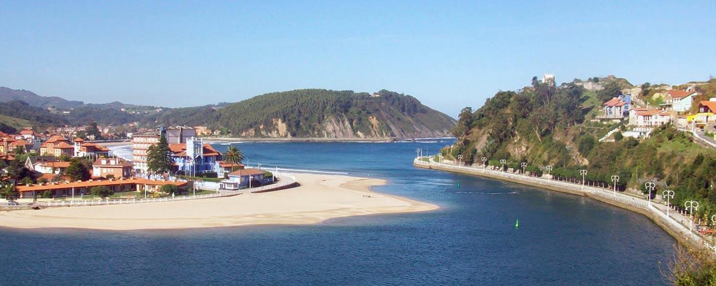 Ribadesella Spain  City pictures : playa de ribadesella ribadesella situación del rincón del sella