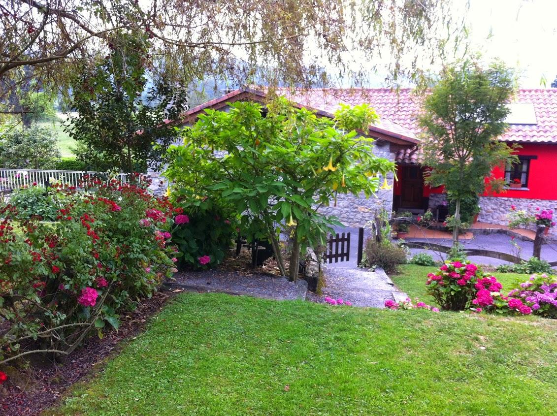 La primavera en el rinc n del sella ribadesella casa - Casa rural el jardin ...