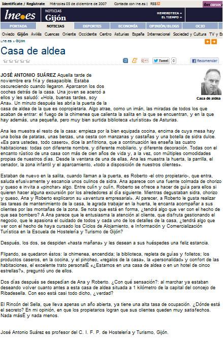 Noticia: Casa de Aldea