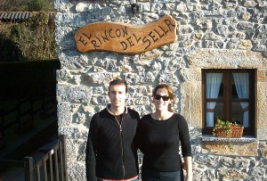 Ana y Roberto casa rural el Rincón del Sella