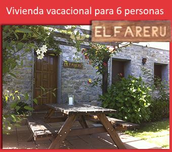 Vivienda Vacacional, casa rural el Fareru Ribadesella, Asturias