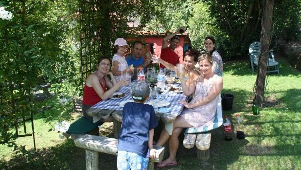 En familia en el Rincón del Sella