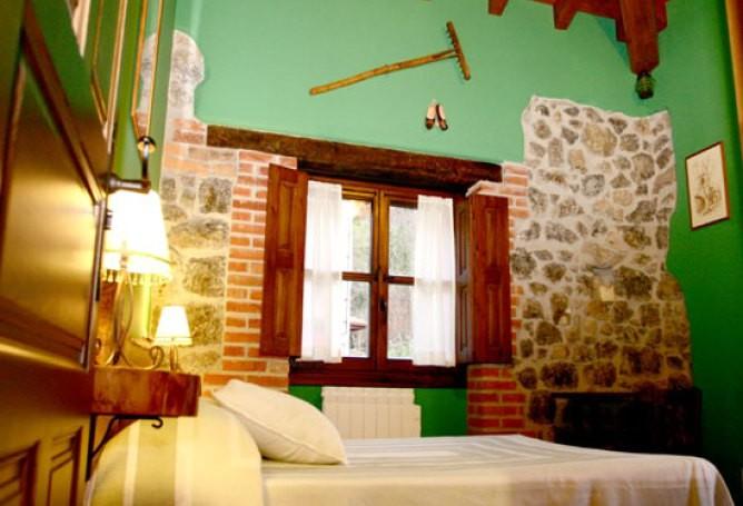 Bedrooms la Llosina el Rincon del Sella cottage