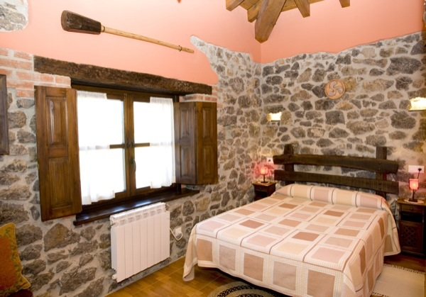 Bedrooms la Tonada el Rincon del Sella cottage