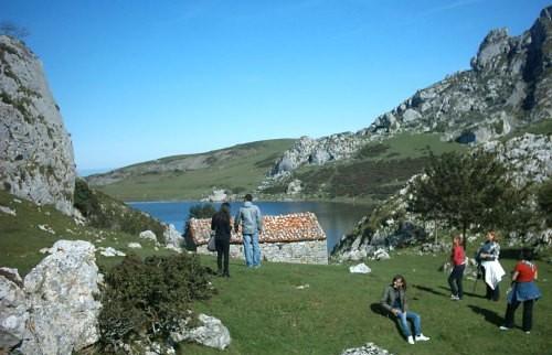 Besuches in Picos Europa Asturias