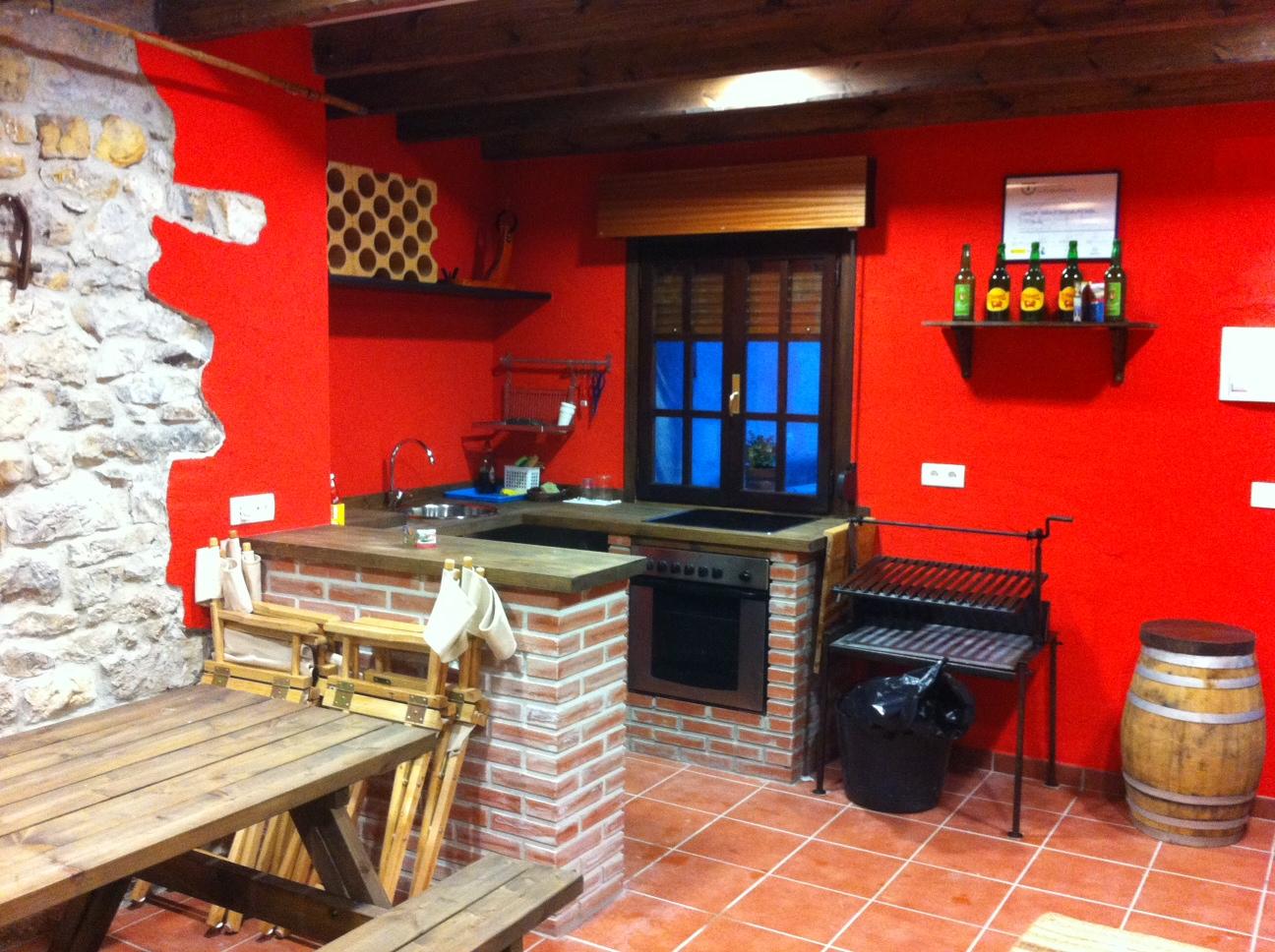 Cider cellar the kitchen cottage Asturias-Rincón de Sella