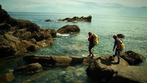 Coasteering en la costa de Ribadesella