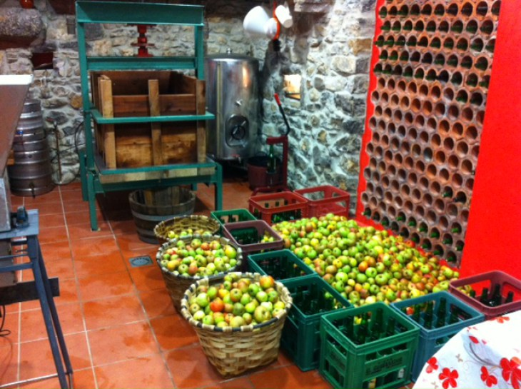 How do we make our cider and Rincon de Sella