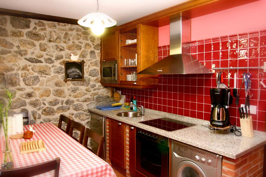La cuisine gìte rural el Rincon del Sella