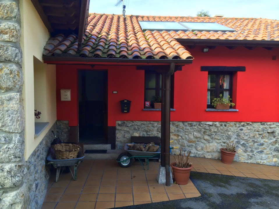 La restauration de la gìte rural Asturias
