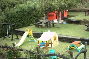 Zona infantil casa rural el Rincón del Sella