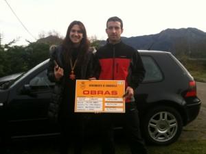 Roberto et Ana propriétaires du gîte rural El Rincón del Sella