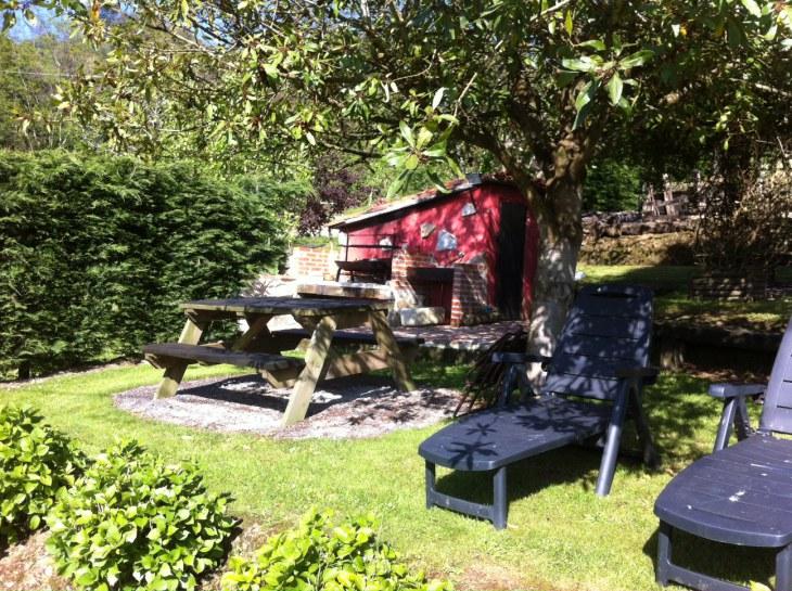The barbecue Rincon de Sella