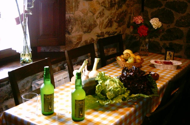 The kitchen cottage Rincon de Sella