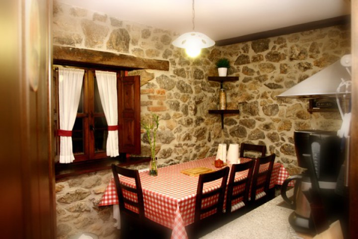 The kitchen fully-equipped el Rincon del Sella