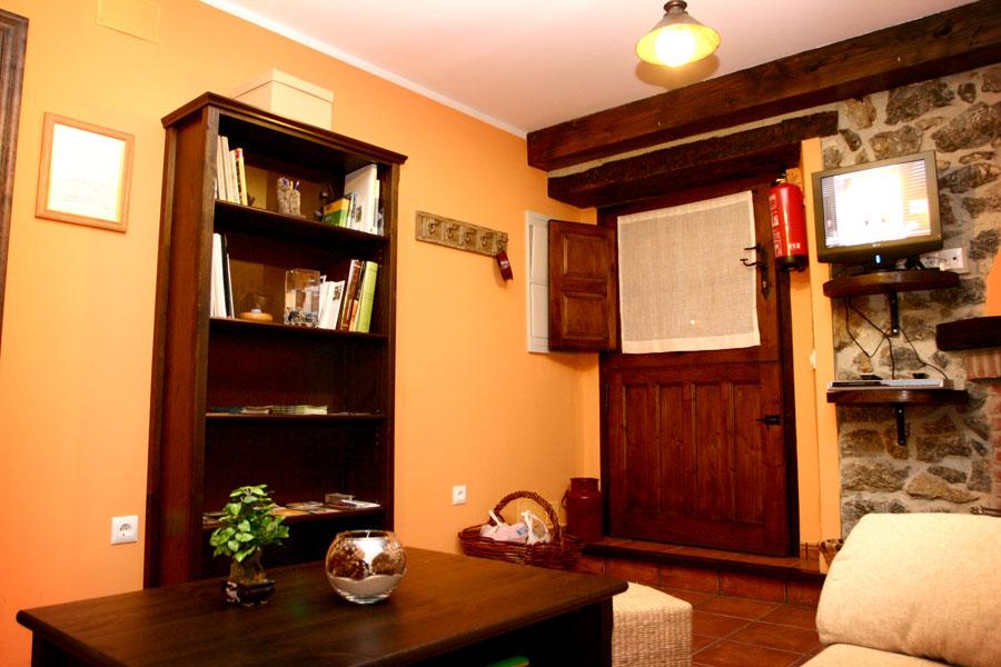 Wohnzimmer Ferienhaus Rincon Sella Ribadesella