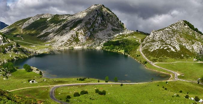 Lago Enol Picos de Europa