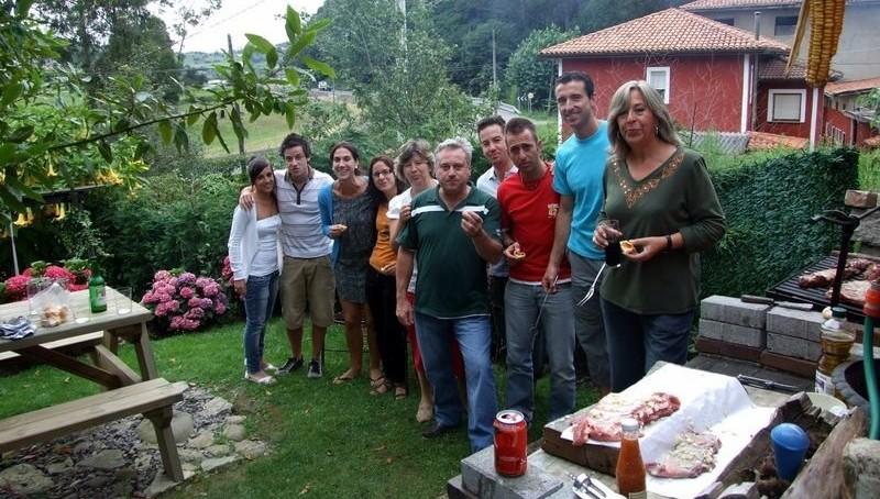 Avec des amis du Rincon Sella