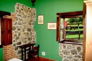 Bedrooms cottage Rincón Sella