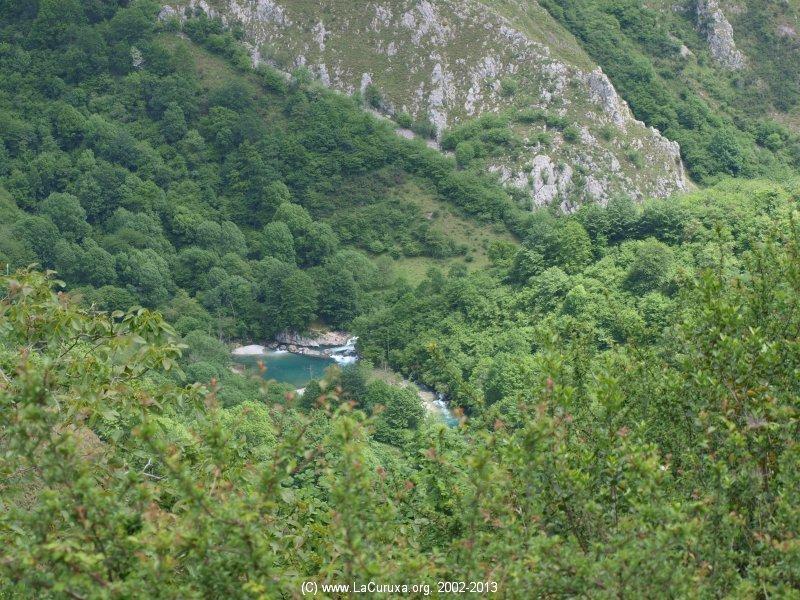 Montagne Cangas olla san Vicente