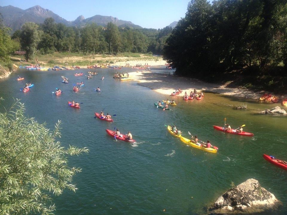 D'activités canoe Sella