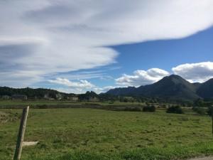 Vistas desde la casa rural el Rincón del Sella